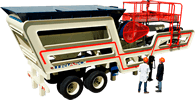 "16"" x 24"" Jaw crusher, equipped"